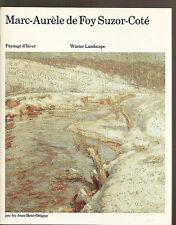 Marc-Aurèle de Foy Suzor-Côté Paysage d'hiver Winter landscape Catalogue 1978