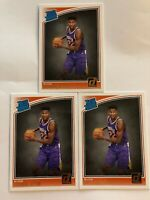 2018-19 Deandre Ayton Donruss Rated Rookie Lot Of 3