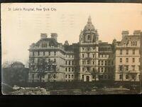 Vintage Postcard>1910>St. Luke's Hospital>New York City