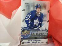 2017-18 upper deck hockey series 1 Hobby Box and Retail Box