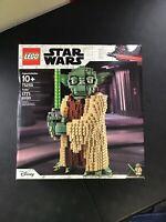 LEGO Disney Star Wars Yoda 75255 - New In Sealed Box - Building Toy - Ages 10+