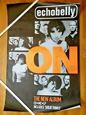 Echobelly (Sonya Aurora Madan) - On (Great Things) autographed subway poster