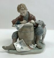 Lladro 1406 Love Letters--Norman Rockwell Collection --Limited Edition--No box--