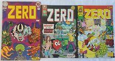 Zero 2, 3 & 4 (1975) Underground Comic FINE Free Shipping!