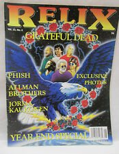 Relix Music For The Mind Magazine December 1996 Grateful Dead - Allman Brothers