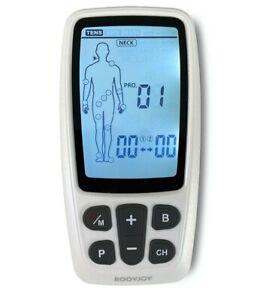 Roovjoy Combo 2 Kanal TENS / EMS Gerät mit Massage Modus komplett mit Elektroden
