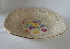 Vintage Tunstall  lot of 3 SOUP Bowl OLD ENGLISH SAMPLER Chintz & Gold