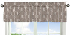 Arrow Print Window Valance Curtain For Sweet Jojo Outdoor Adventure Bedding Sets