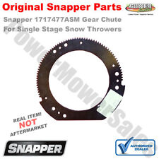 Snapper Replacement Part # 1717477ASM gear-chute 10.0od 6.6