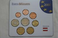 AUSTRIA 2002 EURO MINT SET B22 BX4 - 274
