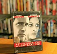 IPOTESI DI COMPLOTTO (1997) DVD Ex-Noleggio Thriller Mel Gibson Julia Roberts