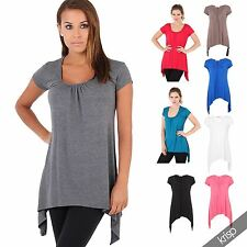 Scoop Neck Short Sleeve Casual Other Tops & Shirts for Women