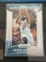 2015-16  James Harden Panini Prizm Fireworks Houston Rockets Basketball Card #5