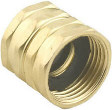 """Green Thumb: 7FHS7FGT: Brass Double Female Swivel Hose to Hose Connector 3/4"""""""