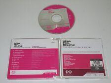 VARIOUS/LA RÉVOLUTION OF SOUND/ENTENDRE FEEL BELIEVE(SONY/UNIVERSAL) SACD ALBUM