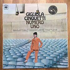 Gigliola Cinquetti – Numero Uno VINYL  CBS – 62938