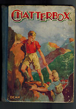 CHATTERBOX ANNUAL 1940s climbing cover