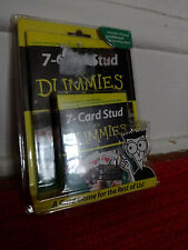 7-Card Stud for Dummies Card cards Game games winter Mini Book New Sealed