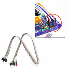 ATX PC Compute Motherboard Power Cable 2 Switch On/Off/Reset w/ LED Light 55cm