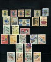 1962-63-64  >> NICARAGUA  stamps  LOT.  {25}