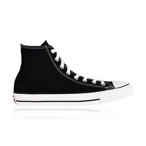 Converse Chuck Taylor All Star Hi Casual Shoes - Mens Womens Unisex - Black