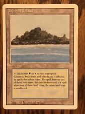 MTG Dual Land Tropical Island, Revised, Magic The Gathering, Great Condition LP