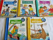 5 x Wieso Weshalb Warum??? Körper-Strassenverkehr-Kindergarten-Wikinger-Wetter