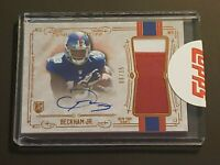 2014 Topps Museum Odell Beckham Jr Auto 6/15 RPA RC Patch Autograph Rookie