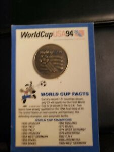 1994 World Cup USA 94 Bronze Coin In Package