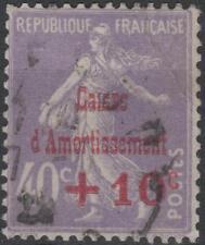 "FRANCE STAMP TIMBRE N° 249 b "" CAISSE AMORTISSEMENT VARIETE "" OBLITERE TB K228"