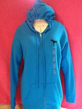NWT VICTORIA'S SECRET PINK  COLLECTION BLUE HOODIE