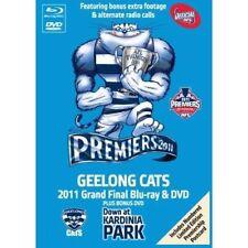 BRAND NEW SEALED AFL 2011 Premiers Grand Final Tin Box (Blu-ray DVD, 3-Disc Set)