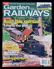 GARDEN RAILWAYS MAGAZINE - JUNE 2003 - How To Construct A Wooden Bridge