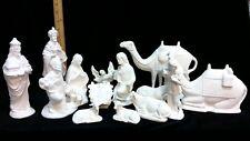 Ceramic Doc Holliday 24 piece Nativity Set