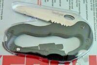 Kershaw Carabiner Tool Knife Screwdrivers Bottle Opener Model 1004nbx Japan New