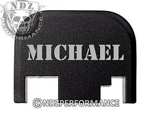 for Glock Rear Plate 17 19 21 22 23 27 30 34 36 41 Blk G1-4 Names Michael