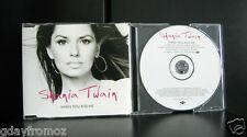 Shania Twain - When You Kiss Me 4 Track CD Single Incl Video