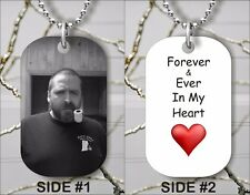 Memorial Personalized Custom Tag Pendant In Memory Of.Free Chain -