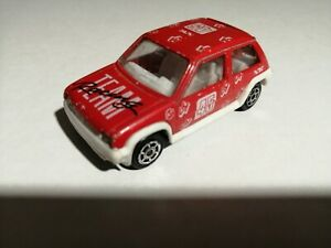 Majorette N°205 Renault 5 Gt Turbo Racing Team Supercino 1/51