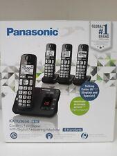 Panasonic KX-TG3634B Expandable Cordless Phone System w/ Answering Machine