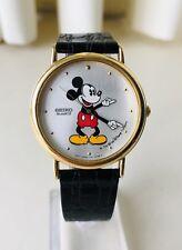 1984 Seiko Pearl Man Mickey Mouse Men's Formal Dress Watch