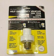911 Flash-Lite Security Emergency Light for Safety Use Outside or Inside