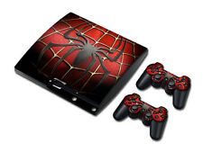 NY Vinyl Skin Sticker Cover Decal For PS3 PlayStation 3 Slim + 2 Controllers#380