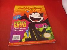 Nintendo Power Volume 40 Felix the Cat Cover w/ Attached Spider-man Poster #E1