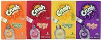 Crush Drink Mix Singles To Go Variety Pack 4 Boxes Pineapple Grape Strawberry ..