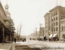 Central Avenue South, Hot Springs, Arkansas - Historic Photo Print