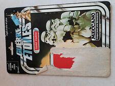 STAR WARS VINTAGE MECCANO STORMTROOPER 12 BACK CARD BACK