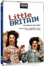 NEW 2DVD - BBC VIDEO - LITTLE BRITAIN - COMPLETE 3RD SERIES - 170 min