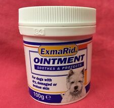 Dog Ointment Dry Damaged Broken Skin 100grm Minor Wounds Abrasions Triple Action