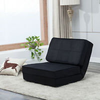Fold Down Chair Sleeper Bed Couch Sofa Flip Out Lounger Convertible Sofa Bed